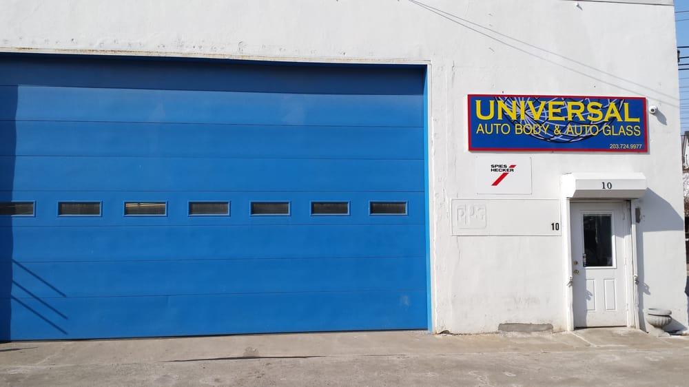Universal Auto Body Body Shops 914 E Main St Stamford