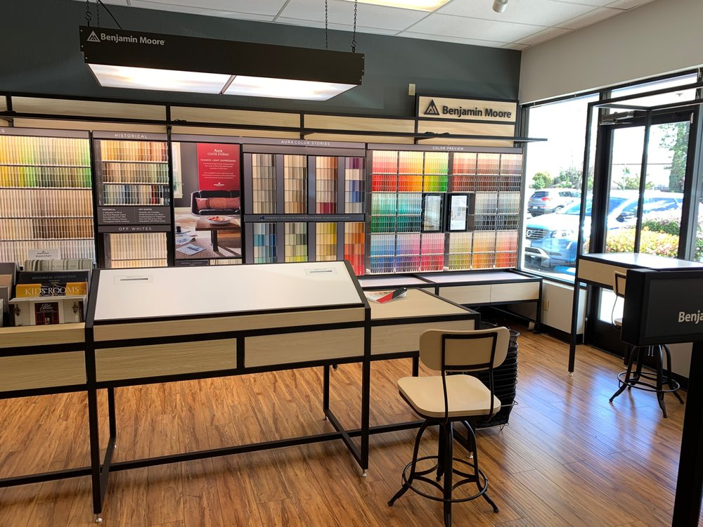 Benjamin Moore - South Bay Paints: 3487 S Bascom Ave, Campbell, CA