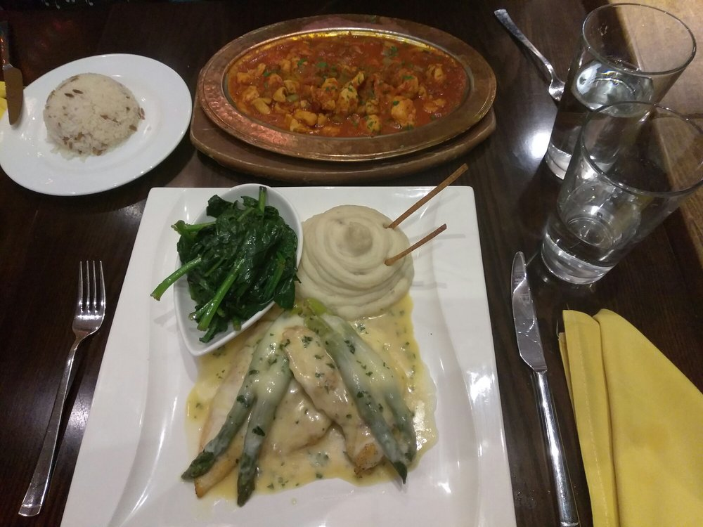 Chicken pacatta and chicken saute yelp for Athena mediterranean cuisine ny