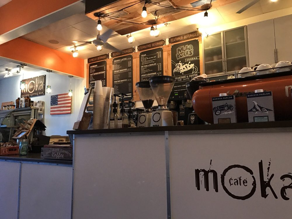 Cafe Moka: 1000 Regent University Dr, Virginia Beach, VA