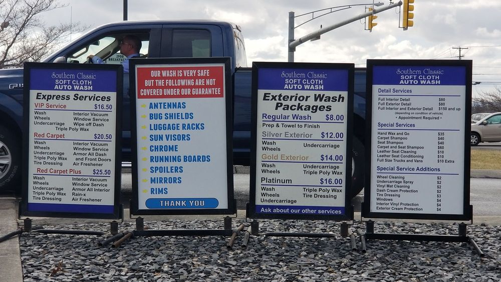 Southern Classic Soft Cloth Auto Wash: 2855 N Franklin St, Christiansburg, VA