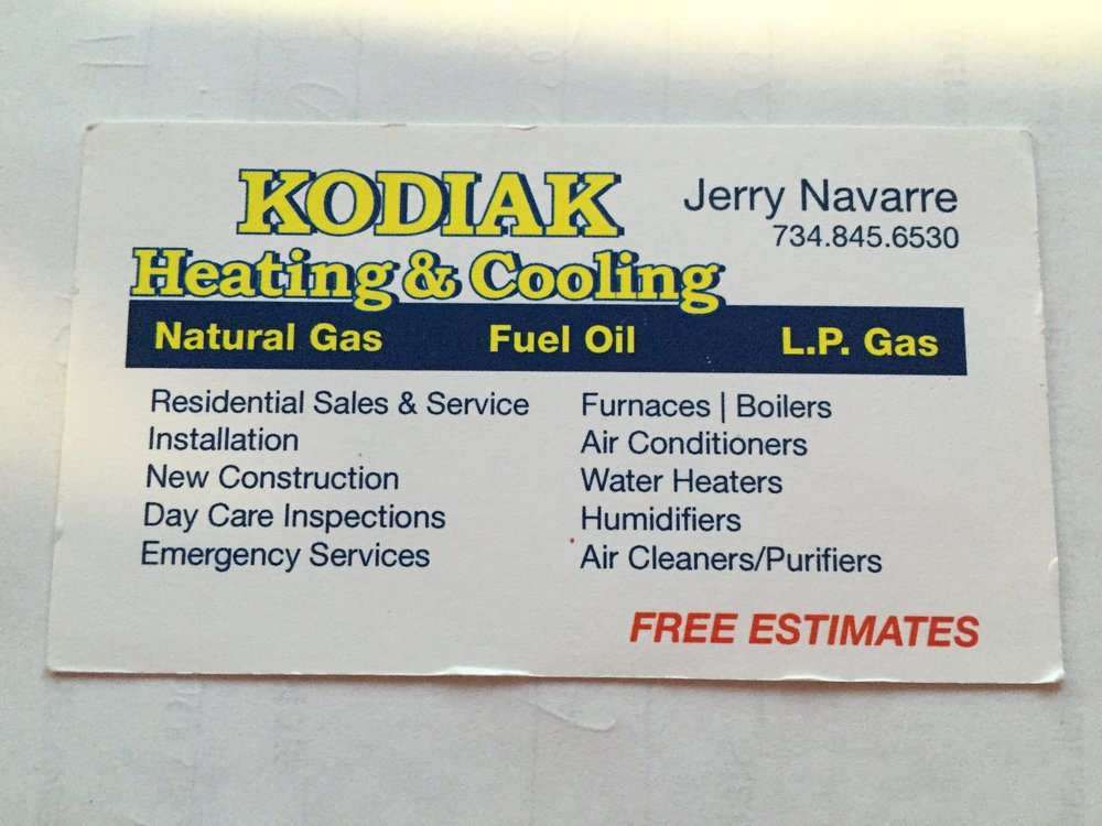 Kodiak Heating & Cooling: Belleville, MI
