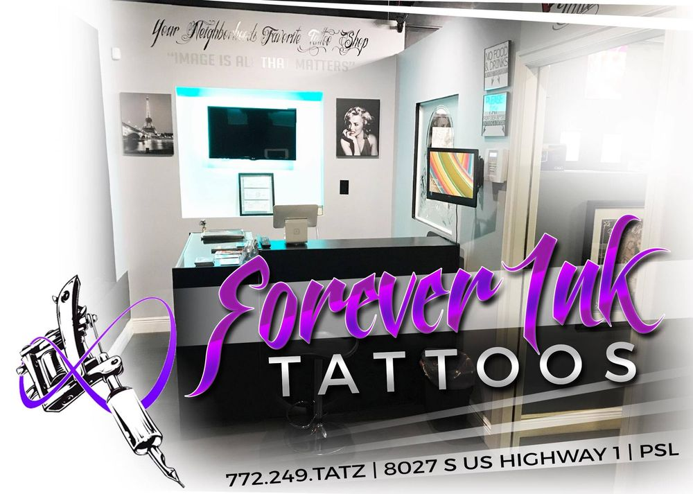 Forever Ink Tattoos: 8027 S US Hwy 1, Port St. Lucie, FL