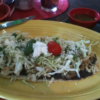 Photo Of Cascabel Mexican Patio   San Antonio, TX, United States. Chicken  Huarache