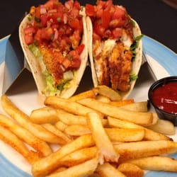 Photo Of Backyard Grill   Chantilly, VA, United States. Fish Tacos