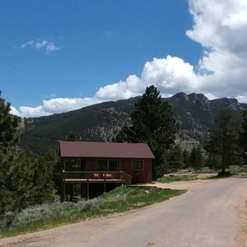 estes main lodging rentals vacation park cabin cabins central pinyon in