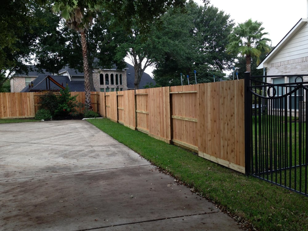 Good Neighbor Cedar Fence Replacement With Treated Pine