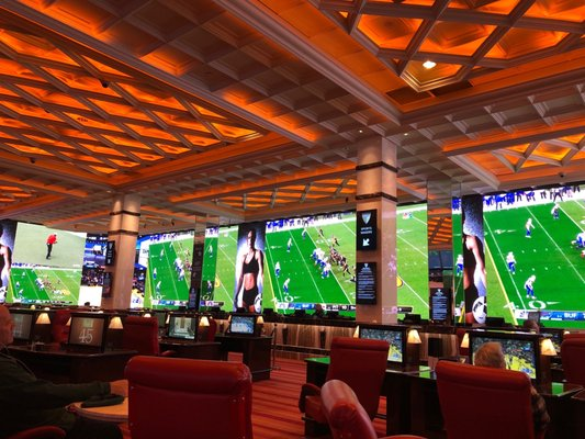 Sports Book at Peppermill