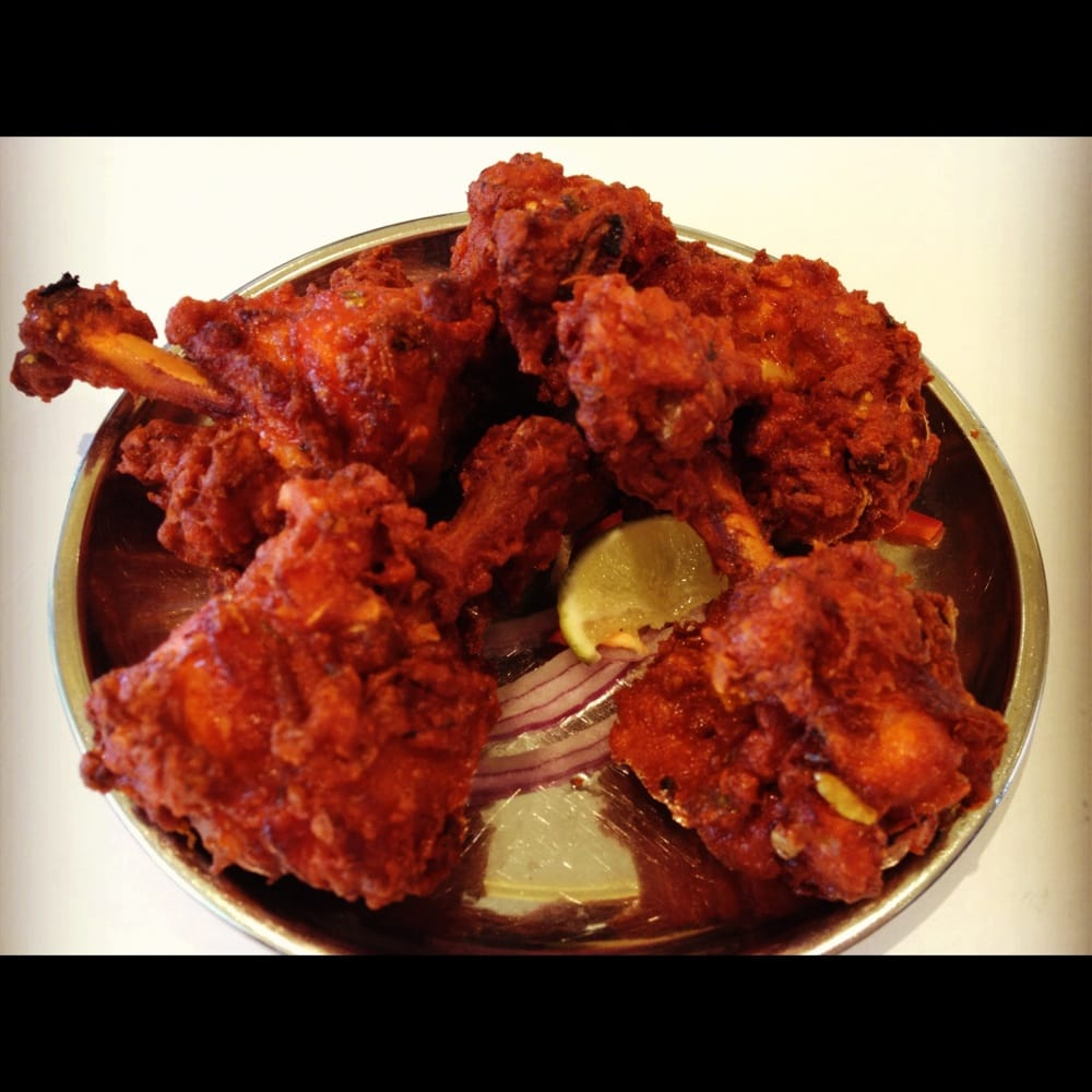 Lollipop chicken yelp for Anjappar chettinad south indian cuisine