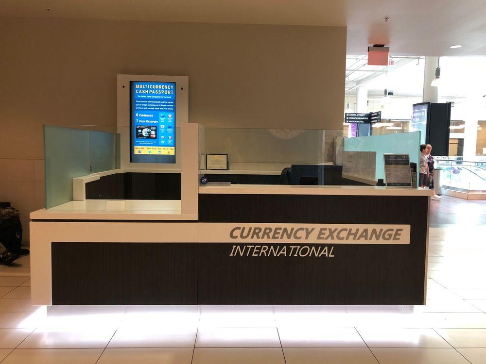 Currency Exchange International: 500 Port Of New Orleans Pl, New Orleans, LA