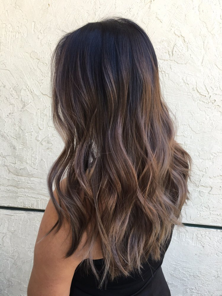 august 2016 ash brown balayage by kacie yelp