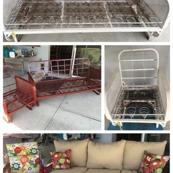 Photo Of Patio Furniture Refinishers   Santa Ana, CA, United States.  Refurbished Gliders