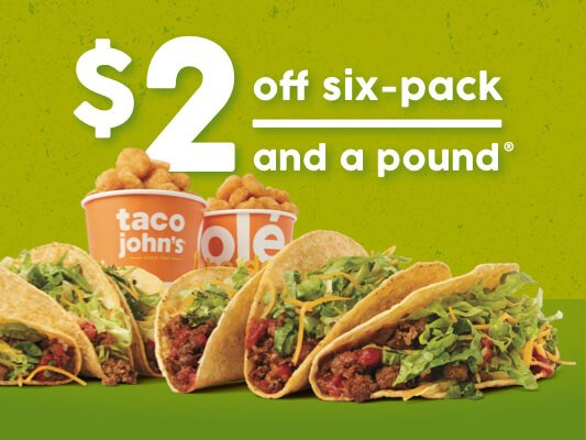 Taco John's: 525 E Coulter Ave, Powell, WY