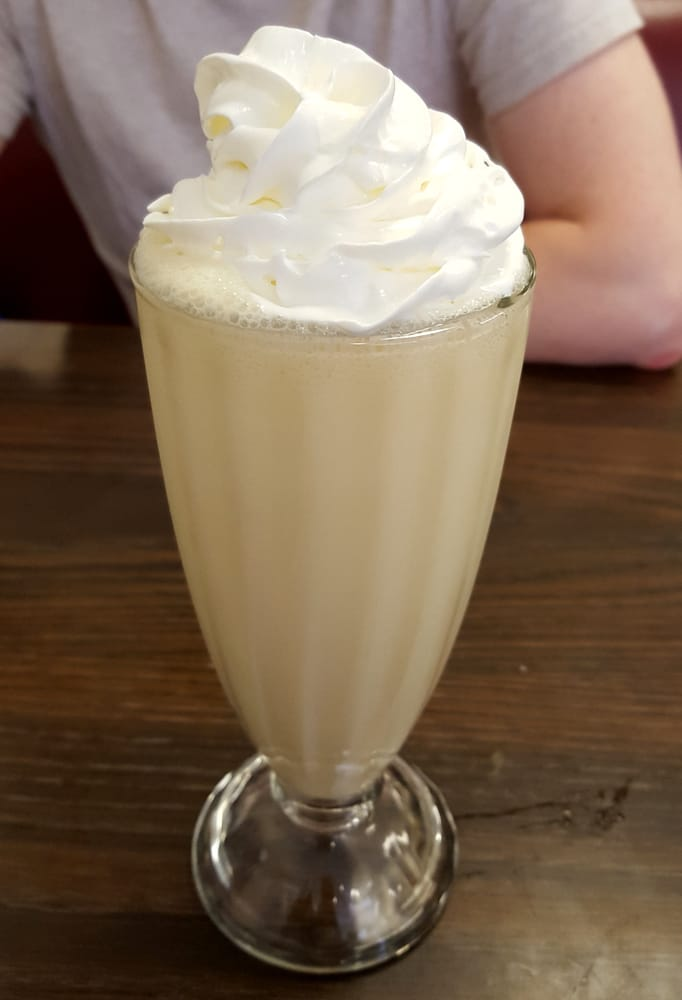 the creamsicle milk shake was delicious yelp