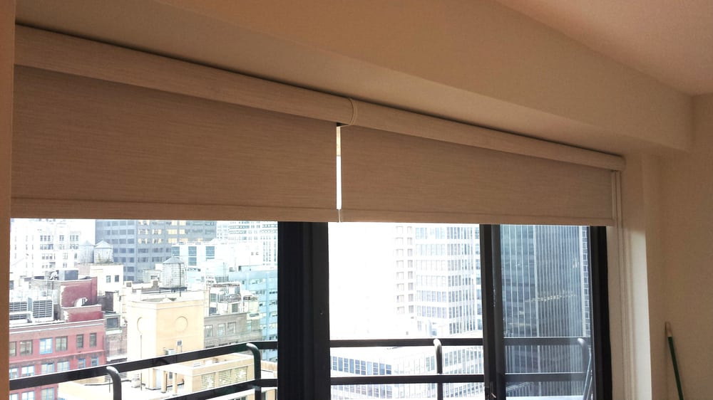 new york city blackout roller shades with side and bottom channels and valance to prevent from any light to come in manhattan yelp