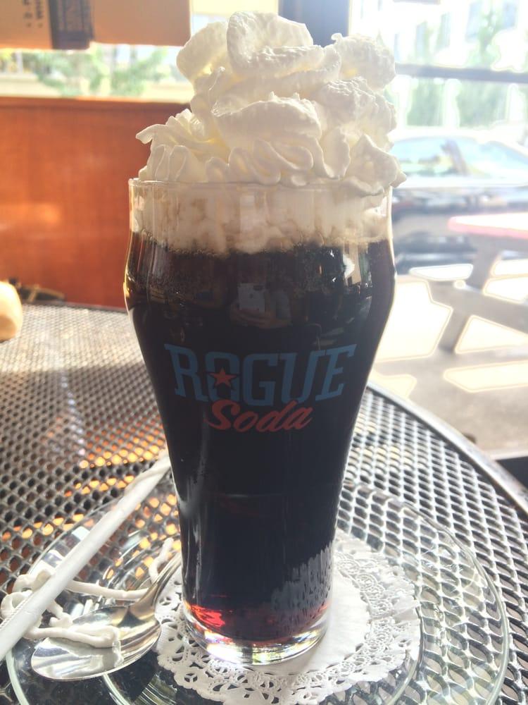 housemade root beer...float. - Yelp