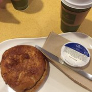 My Little Snack Bag Photo Of Panera Bread Jacksonville Fl United States Cinnamon Crunch Bagel With