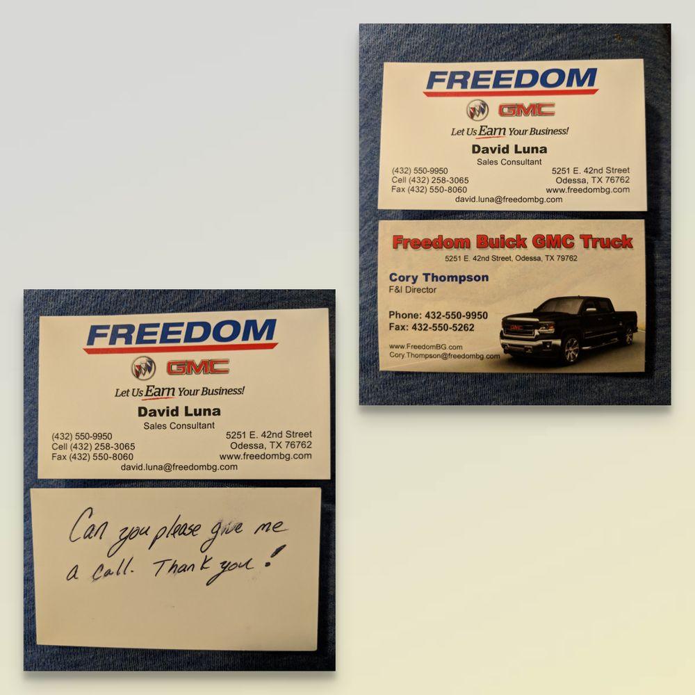 Gmc Dealers Near Me >> Freedom Buick GMC - Car Dealers - 5251 E 42nd St, Odessa ...
