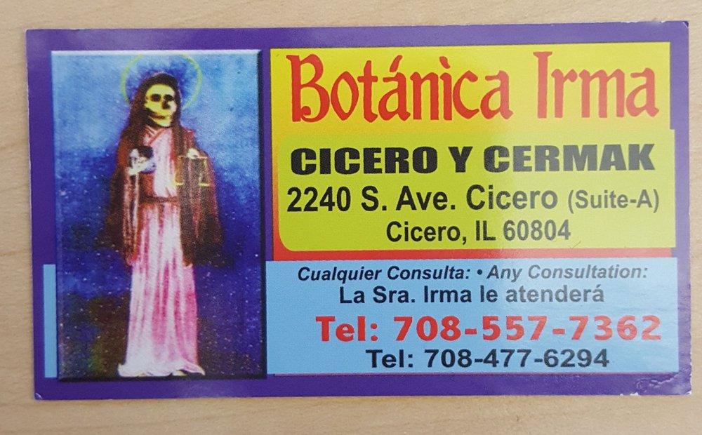 Botanica Irma: 2240 S Cicero Ave, Cicero, IL