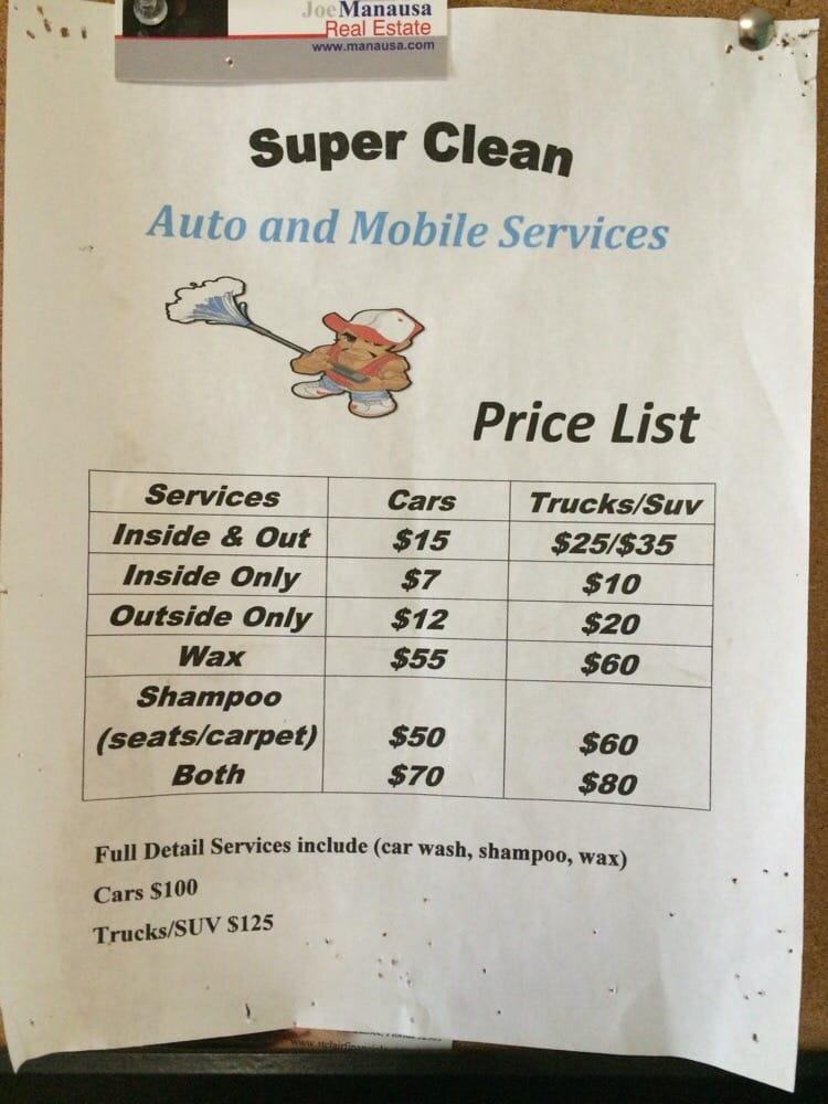 Full Price List.