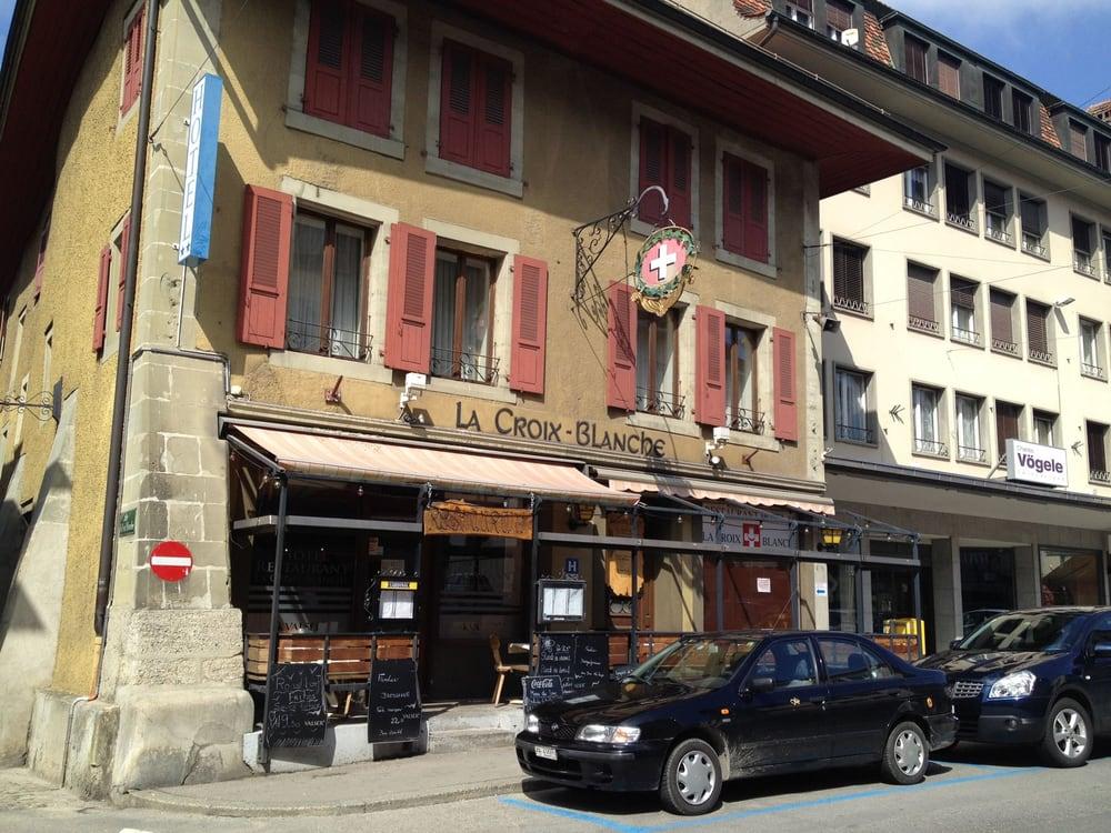 Restaurant la Croix Blanche - Payerne