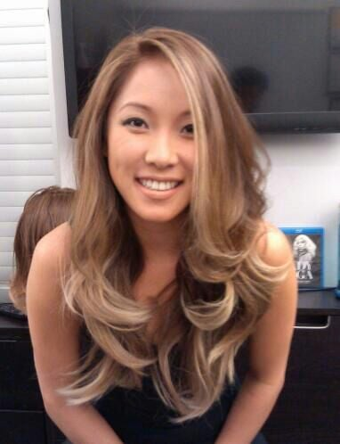 Pearl Blonde Ombre On Asian Hair Yelp
