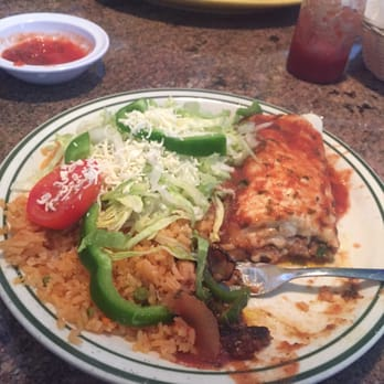 Photo Of Las Palmeras Mexican Restaurant Sunset Beach Nc United States Burrito