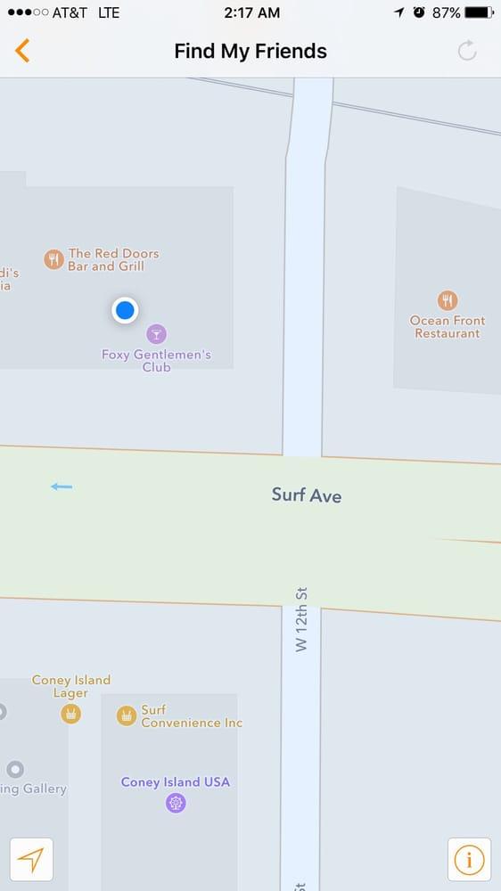 Foxy Gentlemen's Club: 1201 Surf Ave, Brooklyn, NY
