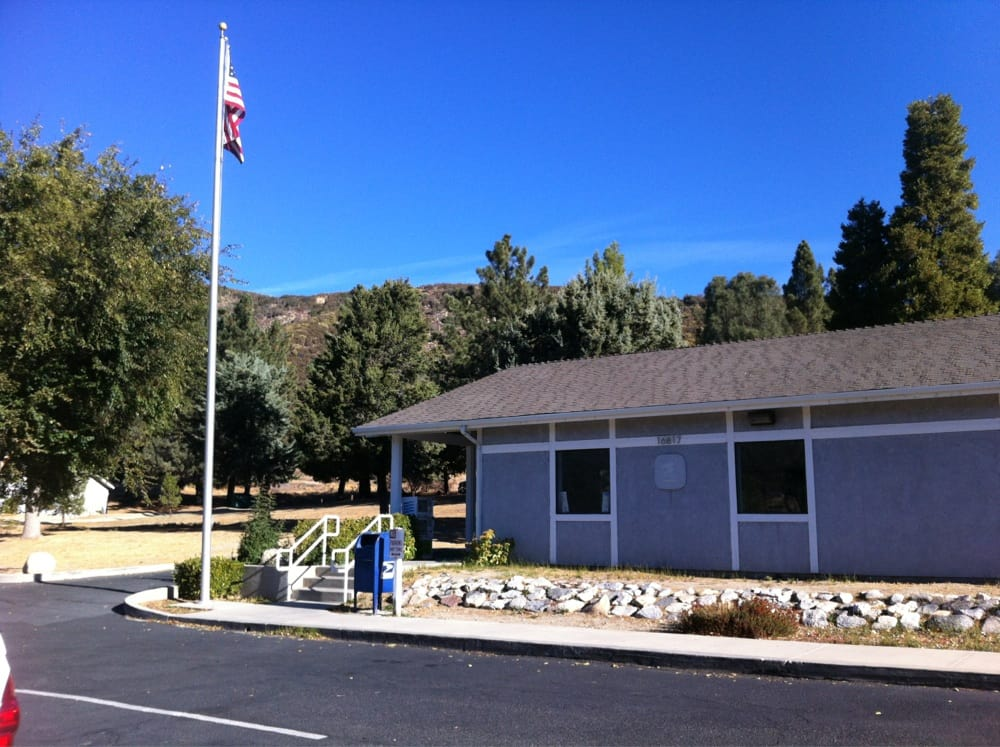 US Post Office: 16817 Elizabeth Lake Rd, Lake Hughes, CA