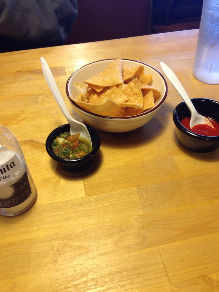 Chips salsa are the bomb yelp - Mexican american cuisine ...