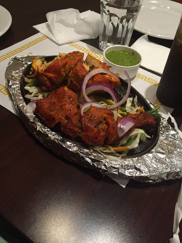 Spicy chicken tandoori yelp for Aroma indian cuisine