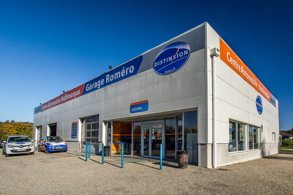 Distinxion garage romero concessionnaire auto 1000 for Garage herblay route de conflans