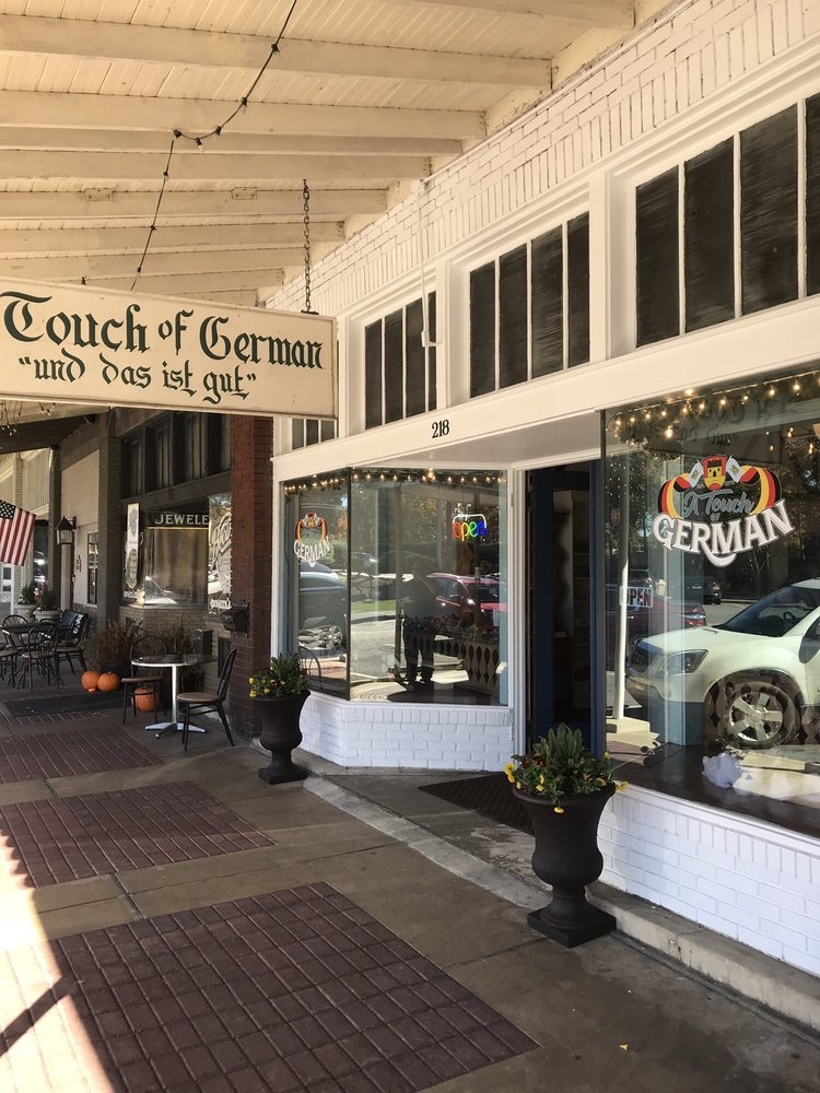 A Touch of German: 218 1st Ave SE, Cullman, AL