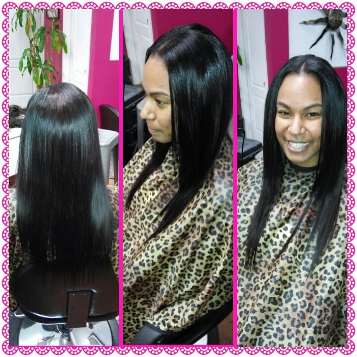 18 Inch Full Sew In Brazillian Hair Weaveall Leave Out Of