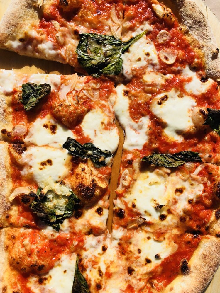 Food from Pizza Antica