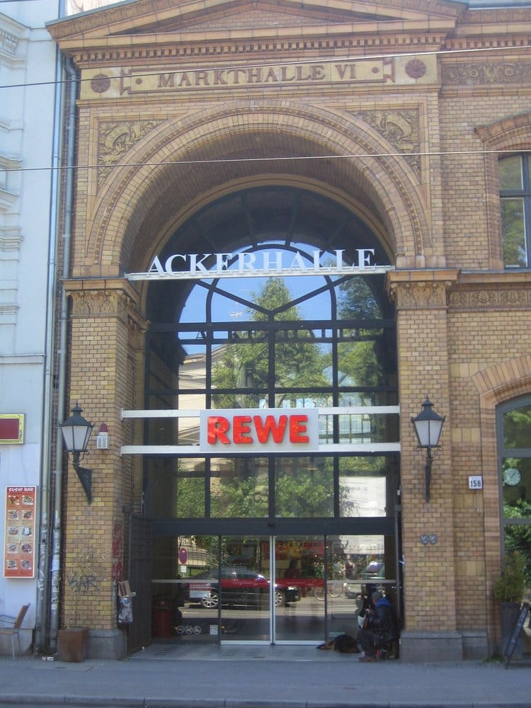 free shipping a68f4 c37cf Die Ackerhalle - home of the nicest Rewe in town. - Yelp