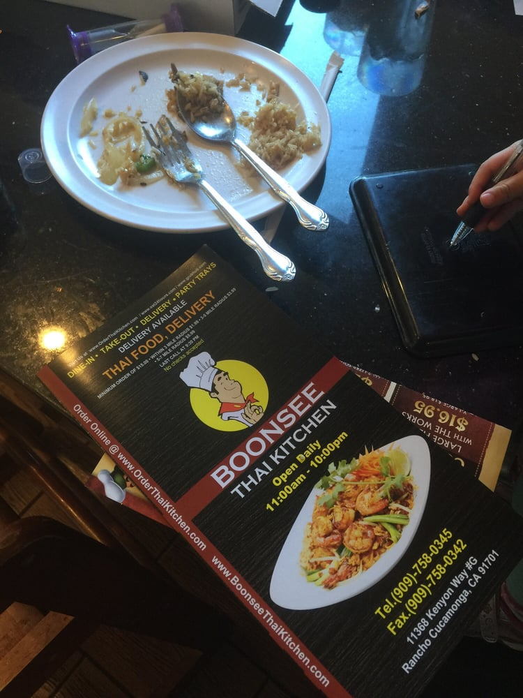 Boonsee Thai Kitchen Rancho Cucamonga Order Food Online 228