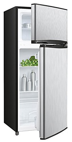 Apartment Size Refrigerator Freezer Stainless Steel - Yelp