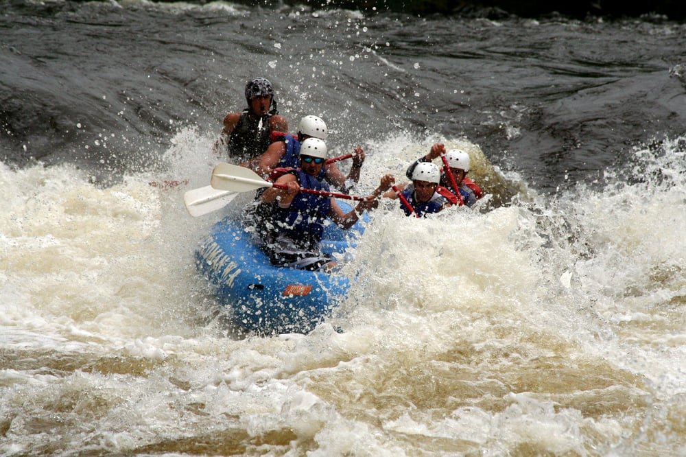 Wildman Adventure Resort - Peshtigo River Outpost: N12080 Allison Ln, Athelstane, WI