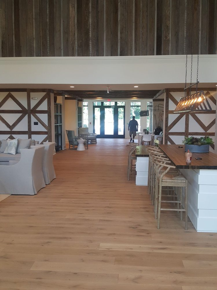 I Love All The Reclaimed Woodd Super Tall Ceilings In The