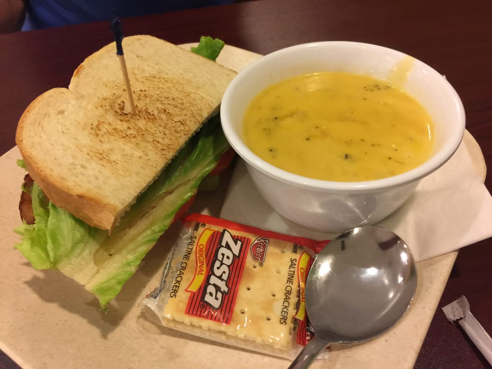 ... of Crispers - Tampa, FL, United States. Blt and broccoli cheddar soup