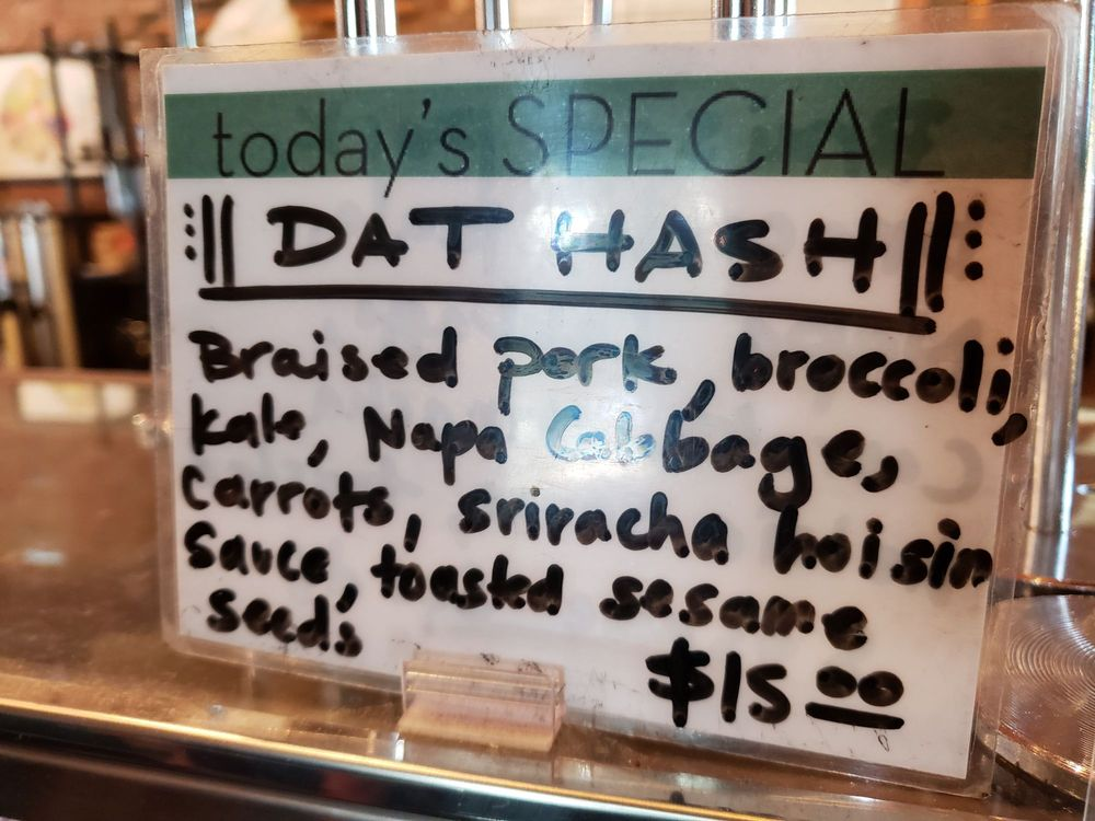 Hash of the day  Very good yes but small portion and not