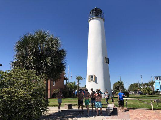 St George Light House near St. George Island in St. George Island, FL