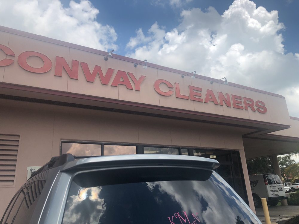 Conway Cleaners And Shirt Laundry: 4450 Curry Ford Rd, Orlando, FL