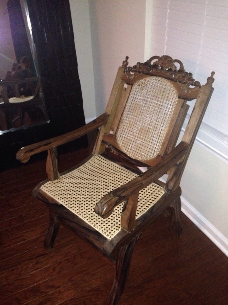 The Chair Caning Shop Damage Restoration West Ashley