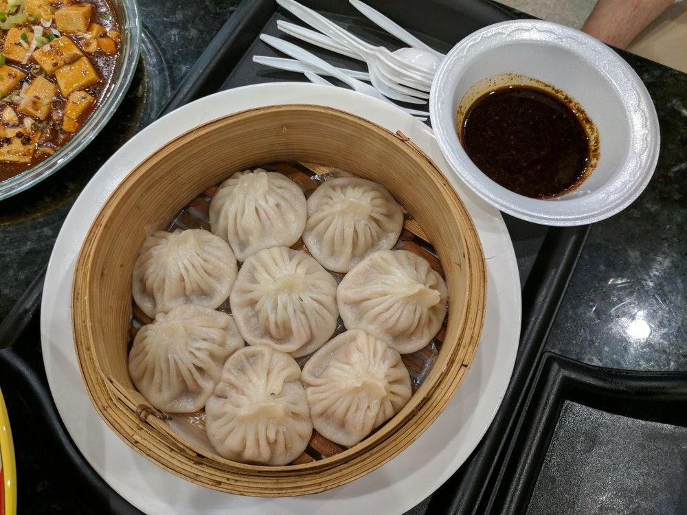 Soup dumplings from Taste of Tianjin at the food court  - Yelp