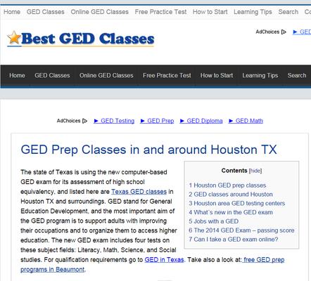 Best Ged Classes Adult Education 2525 Robinhood St West