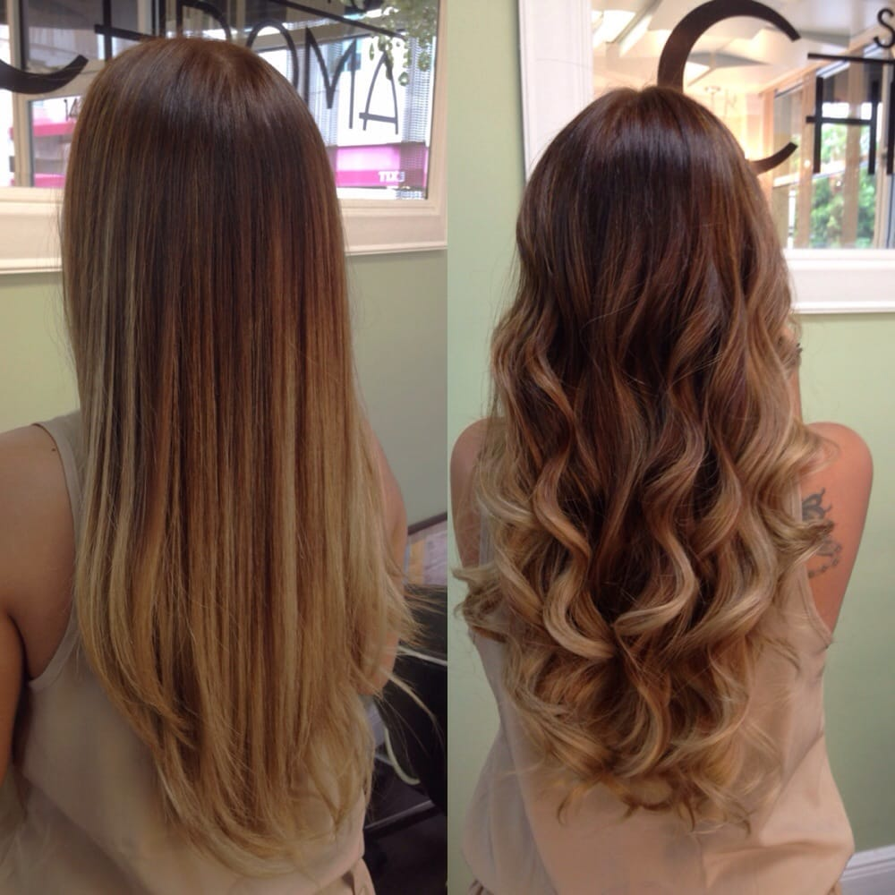 Balayage By Erika Styled Straight And Curly Shinieshears