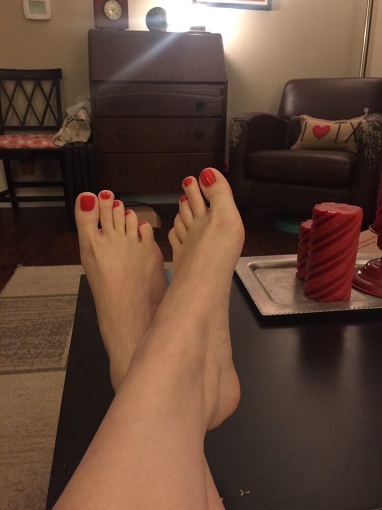 pretty toes after the zero gravity pedicure yelp