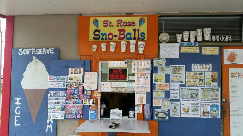 St Rose Snowballs: 11072 River Rd, Saint Rose, LA